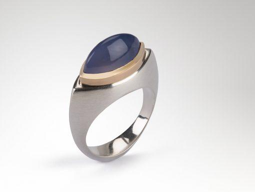 Chalcedony Talisman Ring
