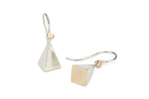 Pyramids Earrings