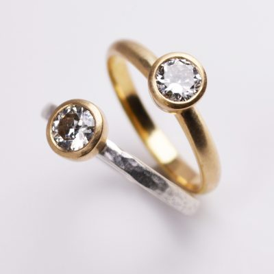 Diamond Engagement Rings by Abby Mosseri