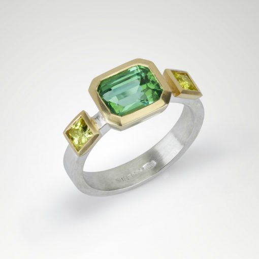 One of a kind Tourmaline Ring by Abby Mosseri