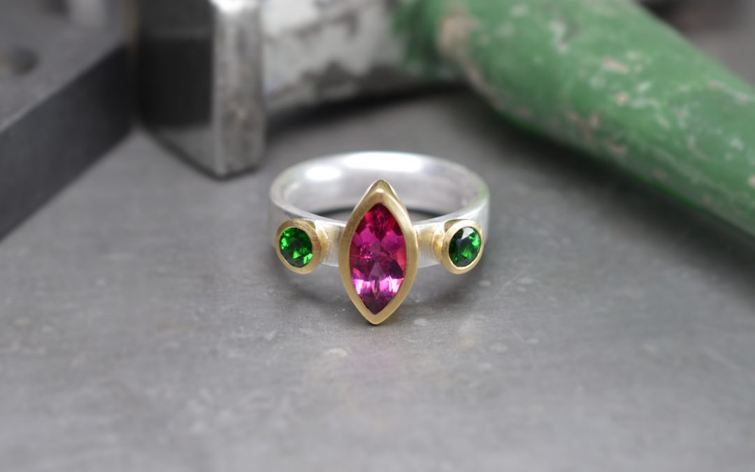 A recent ring commission that made me smile