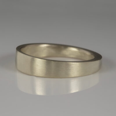 Unusual Handmade Wedding ring by Abby Mosseri