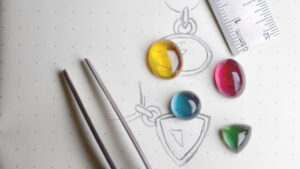 Abby Mosseri bespoke gem-set jewellery commissions